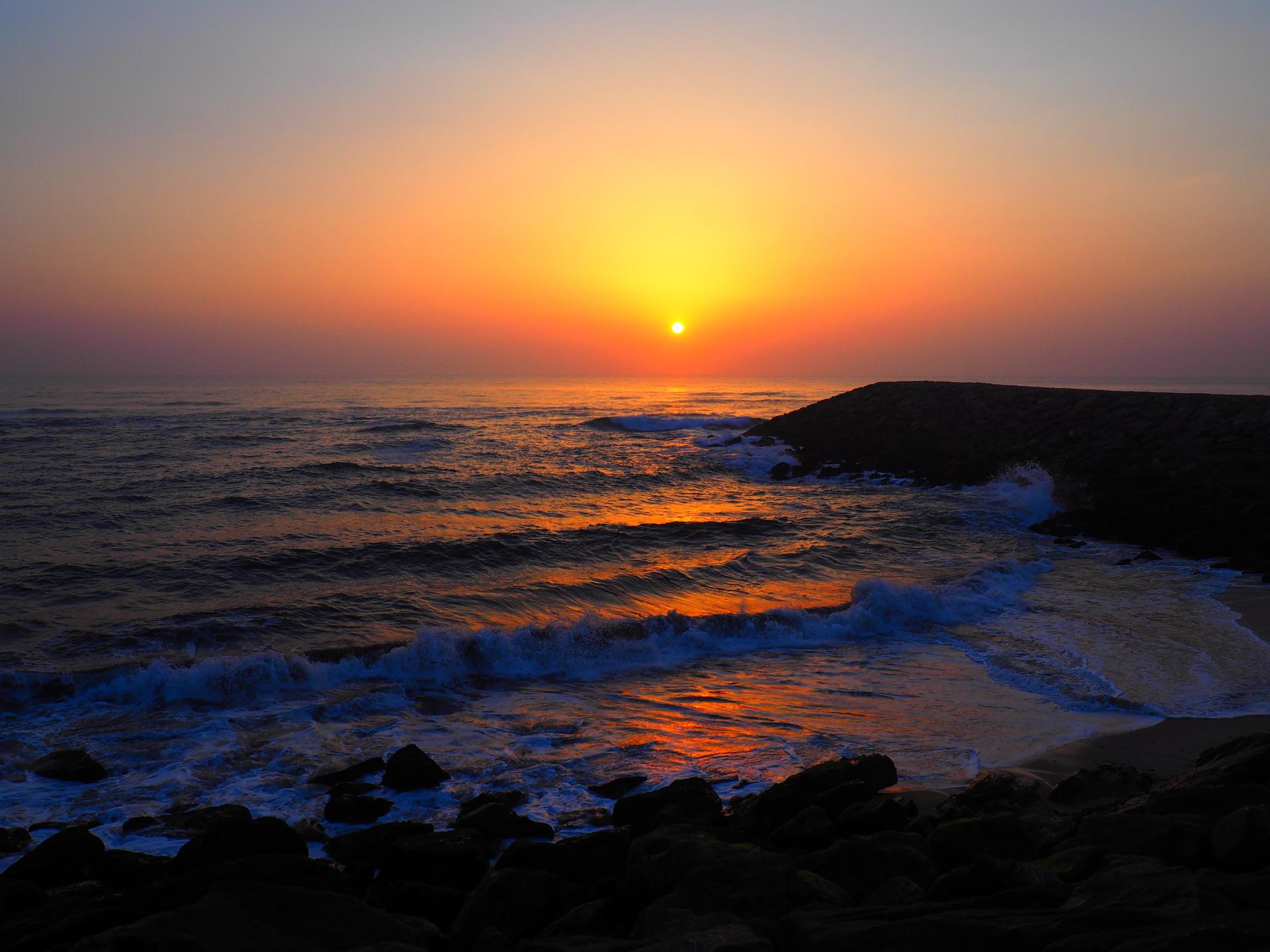 Aveiro sunset