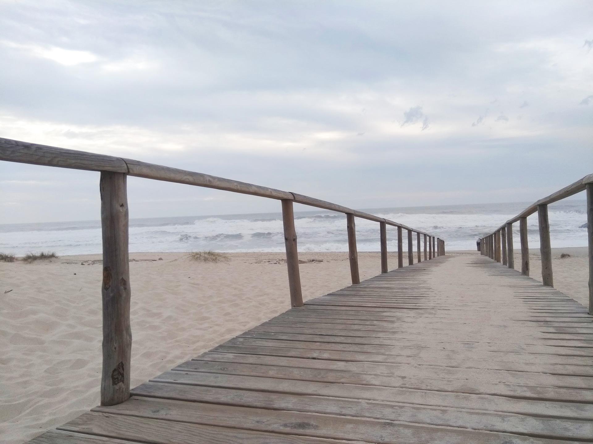 Beach roads