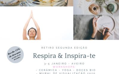 Respira e Inspira-te  – segunda edição